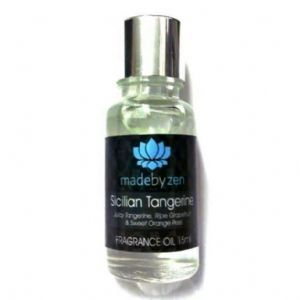 SICILIAN TANGERINE - Signature Scented Fragrance Oil Made By Zen 15ml